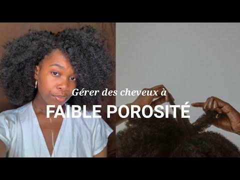 COMMENT GÉRER DES CHEVEUX À FAIBLE POROSITÉ ?   Conseils et astuces cheveux afro