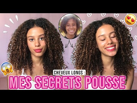 MES SECRETS POUSSE 😍 | Comment Faire Pousser Ses Cheveux Bouclés / Frisés ?