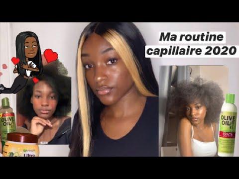 ROUTINE CAPILLAIRE POUR CHEVEUX CRÉPUS ( pousse de cheveux , washday , conseil etc .. )