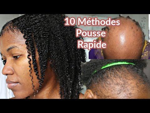 10 Astuces Pratique Pour la Pousse Rapide Des Cheveux Naturels Crépus + BONUS