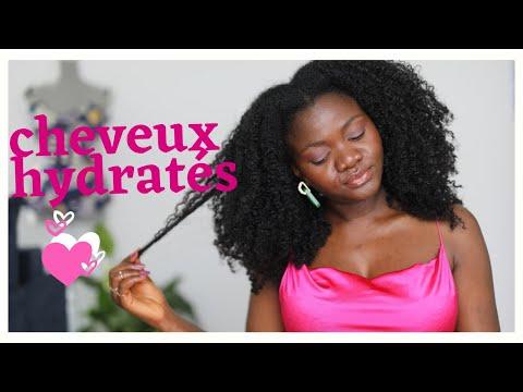 Comment avoir des cheveux crépus souples et hydratés    03 astuces