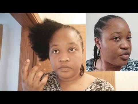 Cette coiffure protectrice qui va booster la pousse de vos cheveux afro en quelques semaines 👌