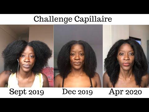 4 MOIS DE POUSSE: POUR AVOIR DES CHEVEUX CRÉPUS LONGS, FORTS ET VOLUMINEUX/ 4 MONTHS HAIR CHALLENGE