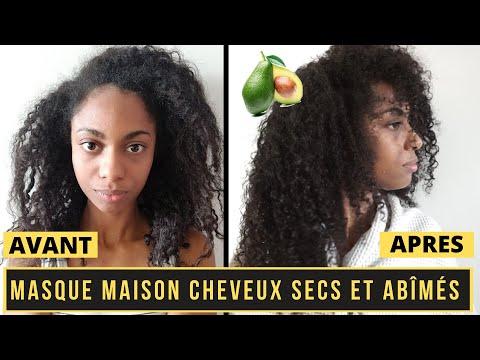 MASQUE MAISON CHEVEUX TRÈS SEC   Recette soin hydratant maison pour cheveux crépus et frisés abîmés