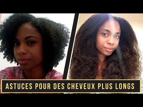 7 ASTUCES pour de LONGS CHEVEUX CRÉPUS, BOUCLÉS | Comment traiter les cheveux qui se cassent
