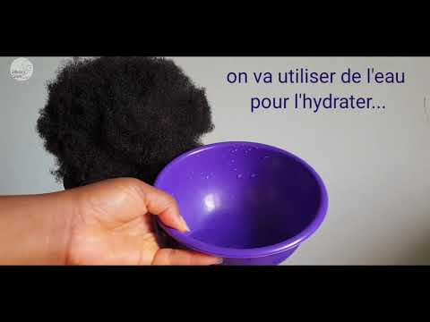 Grin capillaire : COMMENT NOURRIR UN AFRO SEC/HOW TO FEED A DRY HAIR