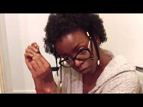 """Démêlage à sec cheveux afro """"4ç"""" façon tiyirenaissance"""