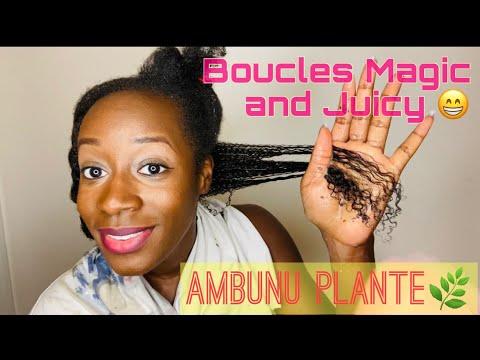 Routine Capillaire : AMBUNU – Meilleur soin Prepoo/Shampoo/Masque le secret de beauté Afro du Tchad