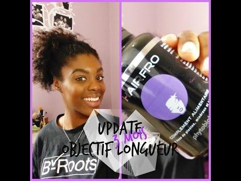 Update 3 Mois : Compléments alimentaires – Lengh check #2 | OBJECTIF LONGUEUR | Agnès Sweetheart |