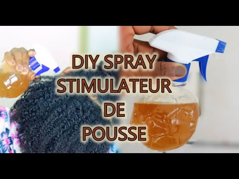 Hydrater et Booster le cuir chevelu avec ce spray! (Eczema, Péliculles, Chute de cheveux) | DIY