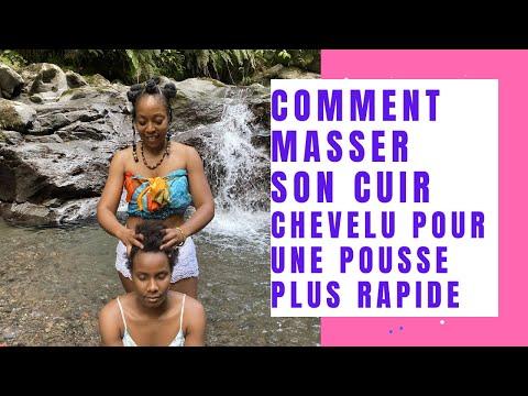 COMMENT SE MASSER LE CUIR CHEVELU POUR UNE POUSSE PLUS RAPIDE #massagecranien #cheveunaturel
