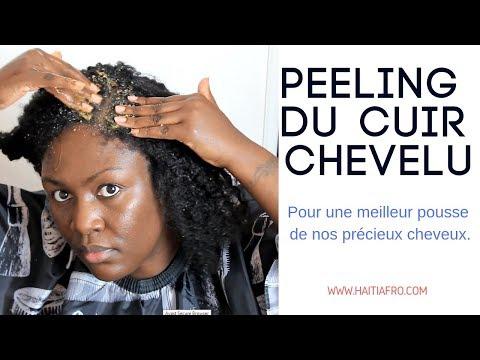 Peeling du cuir chevelu _ Recette très simple