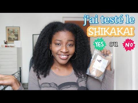 Cheveux Crépus:Mon avis sur le SHIKAIKAI (Poudre Indienne) shampooing naturel avec démonstration