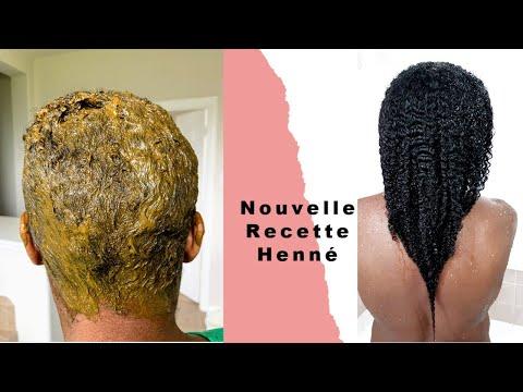 🔥NEW Recette Poudre HÉNNÉ Pour Avoir Des Cheveux Naturels Crépus Longs, Volumineux & NOIR🔥