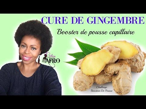 HAIRCARE I Cure de Gingembre : Booster de pousse