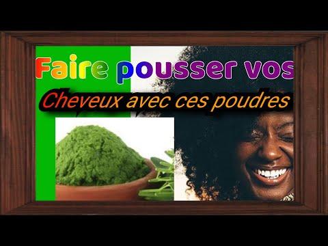 Poudre Haïtienne pour la pousse et la santé des cheveux
