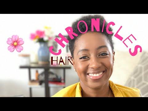 HAIR CHRONICLES – routine  pour accélérer la pousse des cheveux Afro