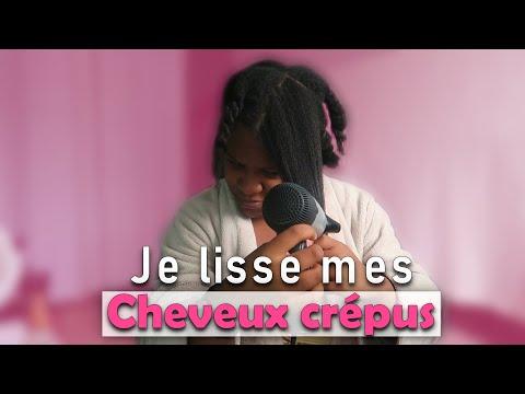 JE LISSE MES CHEVEUX CREPUS | Coiffure cheveux afro – 4b/4c