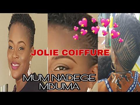 🔴MUM NADEGE MBUMA JOLIE COIFFURE AFRO CHEVEUX