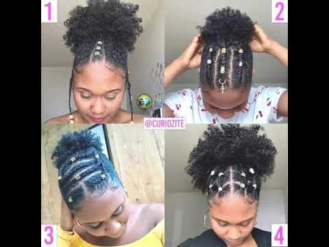 Idées coiffure afro