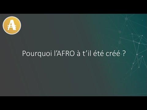 Pourquoi l'AFRO a t'il été créé ?