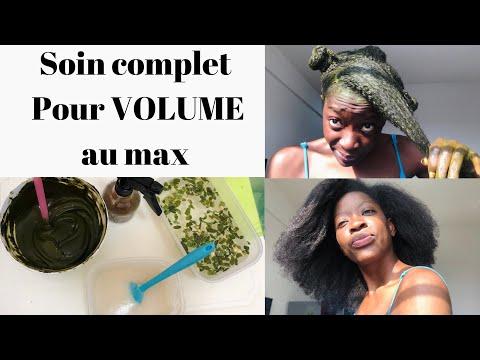 Pousse et Volume cheveux crépus : soin capillaire simple et complet à la poudre de MORINGA