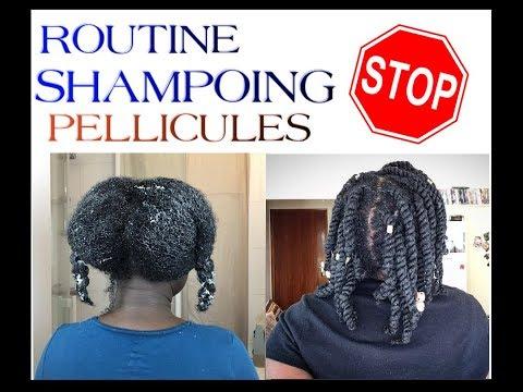 Pellicules , cuir chevelu sensisible ?? ma Routine Shampoing