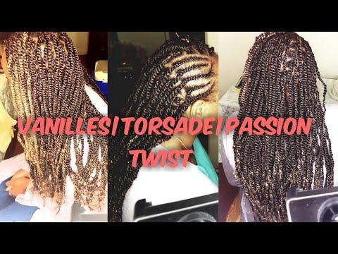 Coiffure protectrice|coiffure africaine|chunky Senegalese twist|vanilles sur cheveux crépus