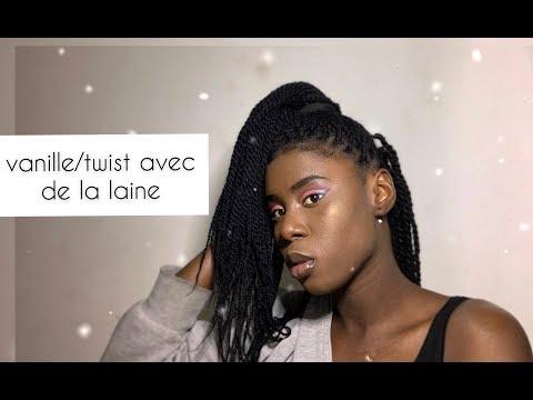 HOW TO Yarn twist//vanille  avec de la laine (Ma technique )  It'sDisy