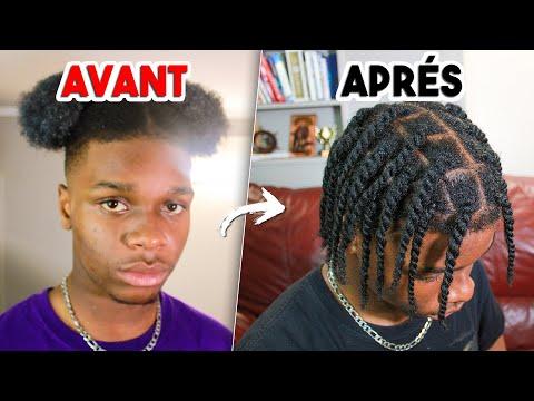 COMMENT FAIRE DES TWISTS/VANILLES – (Homme Noir )