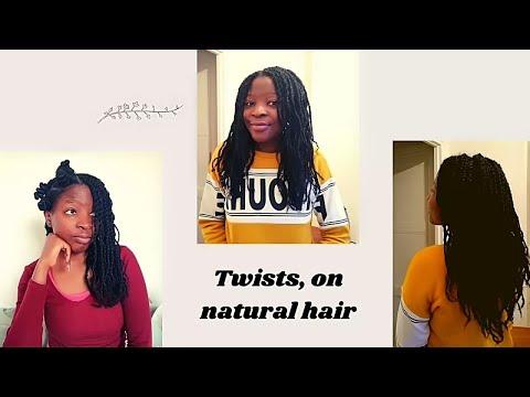 Coiffure protectrice (Vanilles, twiwts) sur cheveux crépus naturel, Update