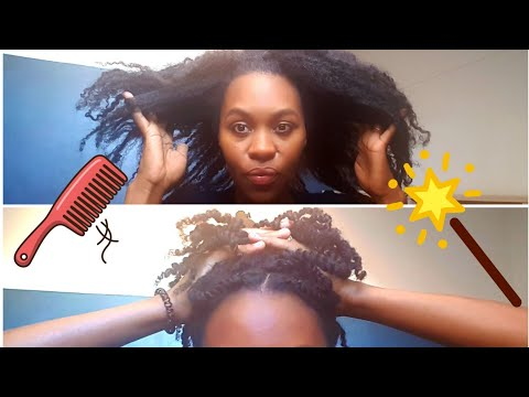 TWISTS/ VANILLES sur cheveux CRÉPUS