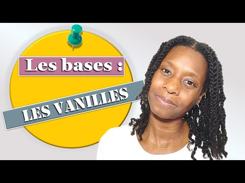 💠Les bases : Les vanilles – technique de coiffure – cheveux afros crépus