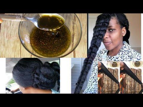 Pour les cheveux crépus, frisés, secs et cassants, ce remède est très puissant