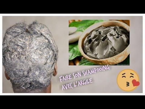Fais ton shampooing avec cet argile et tes cheveux serons ramollis, brillant et propre