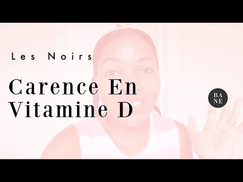 Pourquoi les noirs sont naturellement en Carence de Vitamine D