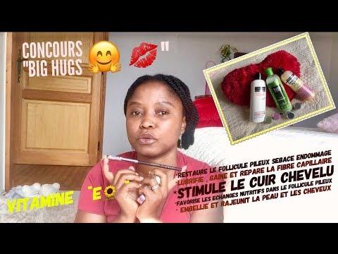"""La Vitamine E son action sur les cheveux & Concours""""BIG HUGS"""" (terminé)"""