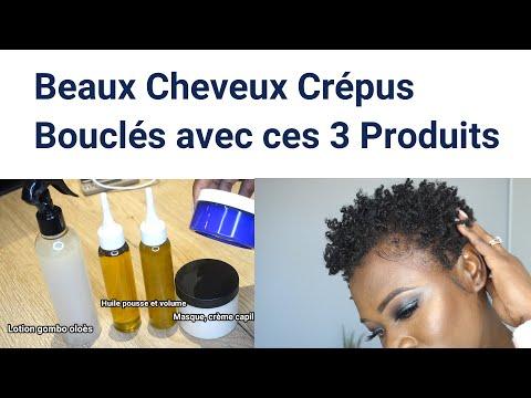 CHEVEUX CREPUS: UN SUPER VOLUME, UNE VRAIE POUSSE, DE BELLES BOUCLES//