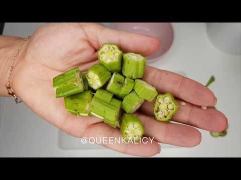 Le gel de Gombo /  DIY Okra gel styling natural Hair