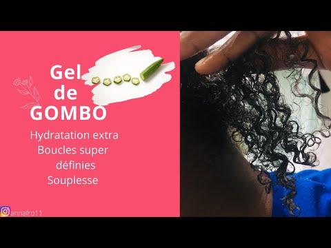 GEL DE GOMBO: Définition naturelle des boucles et hydratation extrême ✨