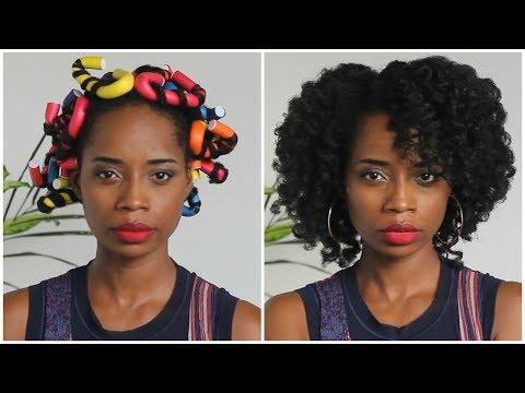 Cheveux Crépus 4C   Boucler ses Cheveux avec le Gel de GOMBO