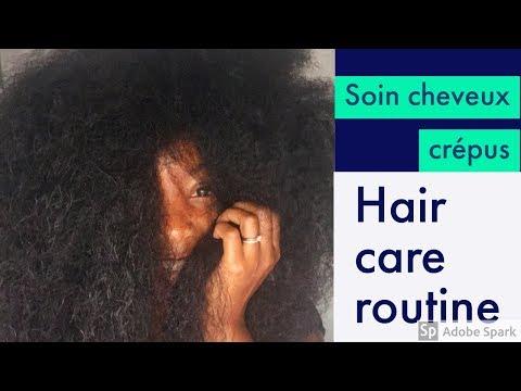 soin cheveux crépus   4C-4B hair care routine   cheveux crépus long
