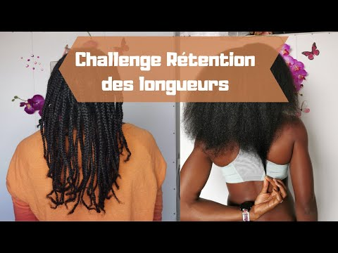 Comment avoir de long cheveux crépus l Challenge rétention des longueurs