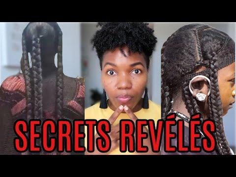 Les Secrets Reveillés Des Femmes Du Tchad Pour Faire Pousser Les Cheveux – CE N'EST PAS LE CHÉBÉ