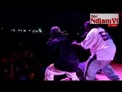 Le montre aux cheveux rouillés du rap tchadien, Big Walker sur le NdjamVi 12