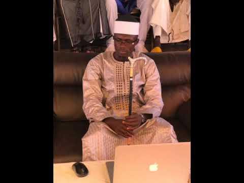 Avec Oustaz  qui se passe actuellement au Sénégal avec les cheveux qui se trouve dans le Coran