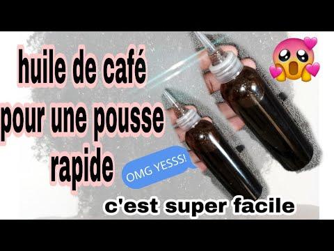 💓 comment réaliser ton huile de café  pour une pousse extrême et rapide💓(2cm en une semaine???)
