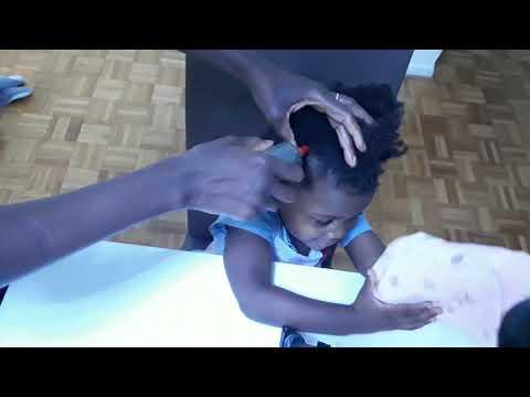 #Comment faire un #bain d'huile sur #cheveux #crépus / How to do an oil bath on frizzy hair