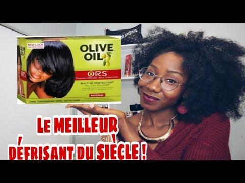 [COMMENT] SE DÉFRISER LES CHEVEUX CRÉPUS   AVEC OLIVE OIL  