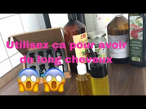 DIY // huile pour faire pousser ses cheveux Crépus